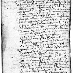 Dénombrement nominatif de la prévôté de Montjustin en 1593