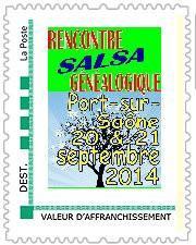 Souvenir Philathélique des 2e Rencontres de Port-sur-Saône