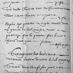 En Haute-Saône… avant 1700