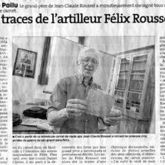 Conférence 14 novembre 2015 : Jean-Claude Roussel – Mon grand-père dans l'enfer de la Guerre de 14/18