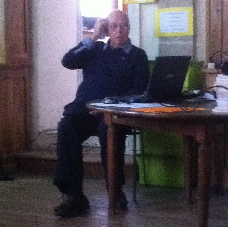 Bernard Arnoult lors de sa conférence
