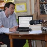 Samedi 14 mai 2016, Frédéric Genévrier a tenu une conférence sur «Les autorités municipales et leur action à Gray à la fin du Moyen Âge»