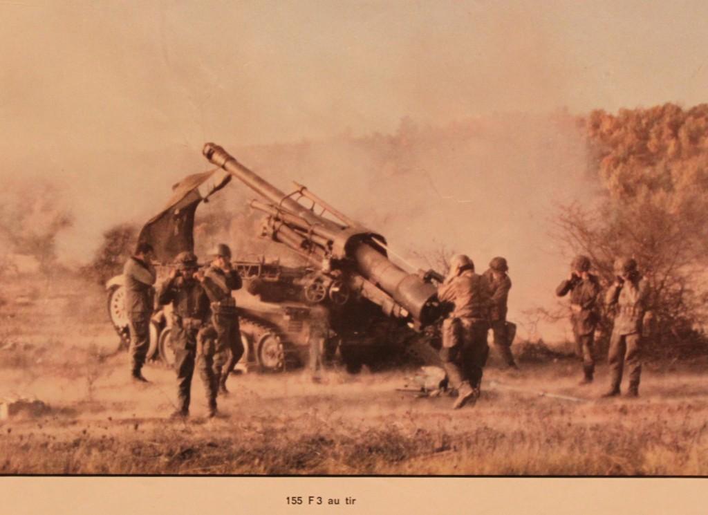1970 AUF3 au tir