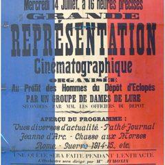 En mai 2018, paraîtra «La Haute-Saône dans la Première Guerre mondiale»