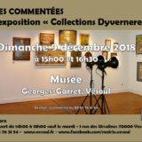 Dimanche 9 décembre 2018 Musée de Vesoul Expo «Dyverneresse»