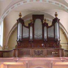 Samedi 13 octobre 2018, Pierre-Marie Guéritey a présenté une conférence sur les Callinet, facteurs d'orgues.