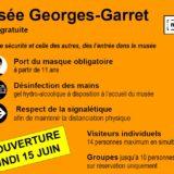 À partir du lundi 15 juin 2020, 14 h, réouverture du Musée de Vesoul : visite commentée de l'exposition «Rose»