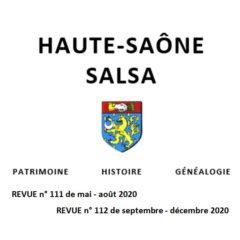 Communiqué concernant la revue «Haute-Saône SALSA»