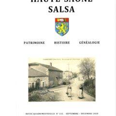 La revue n° 112 a été déposée à La Poste le 13 avril.